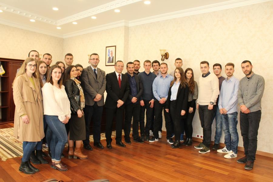 Studentët e Fakultetit Ekonomik vizituan Bankën Qendrore të Kosovës