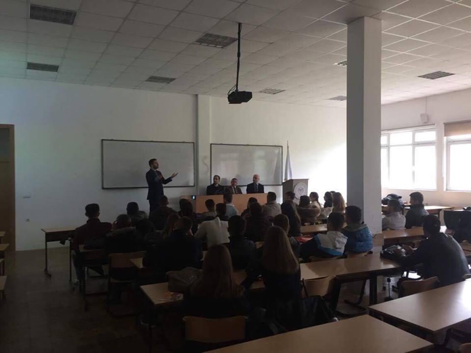 Instituti GAP mbajti ligjëratë në Fakultetin Ekonomik