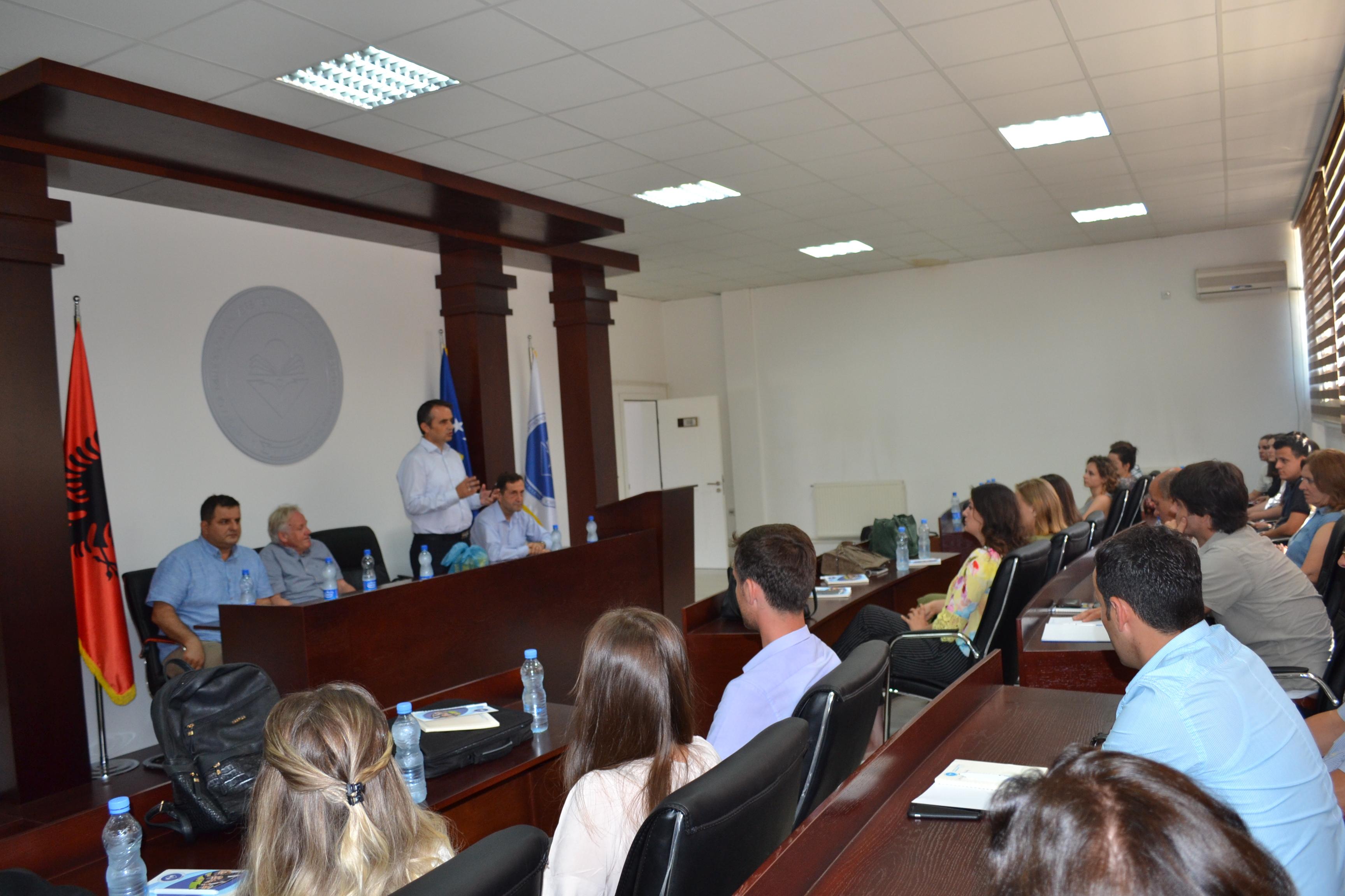 """Universiteti """"Isa Boletini"""" përgatitë ekspertë për trajtimin e ujërave shkarkuese"""