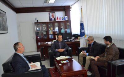 Rektori Musaj Vlerëson Bashkëpunimin Me OSBE-në