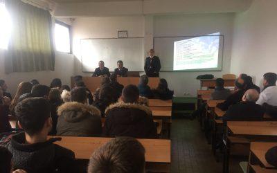 Një Delegacion Nga Qendra Për Kërkime Dhe Mbikqyrje Të Minierave Nëntokësore (QKMMN) Nga Polonia Vizituan Fakultetin Gjeoshkencave