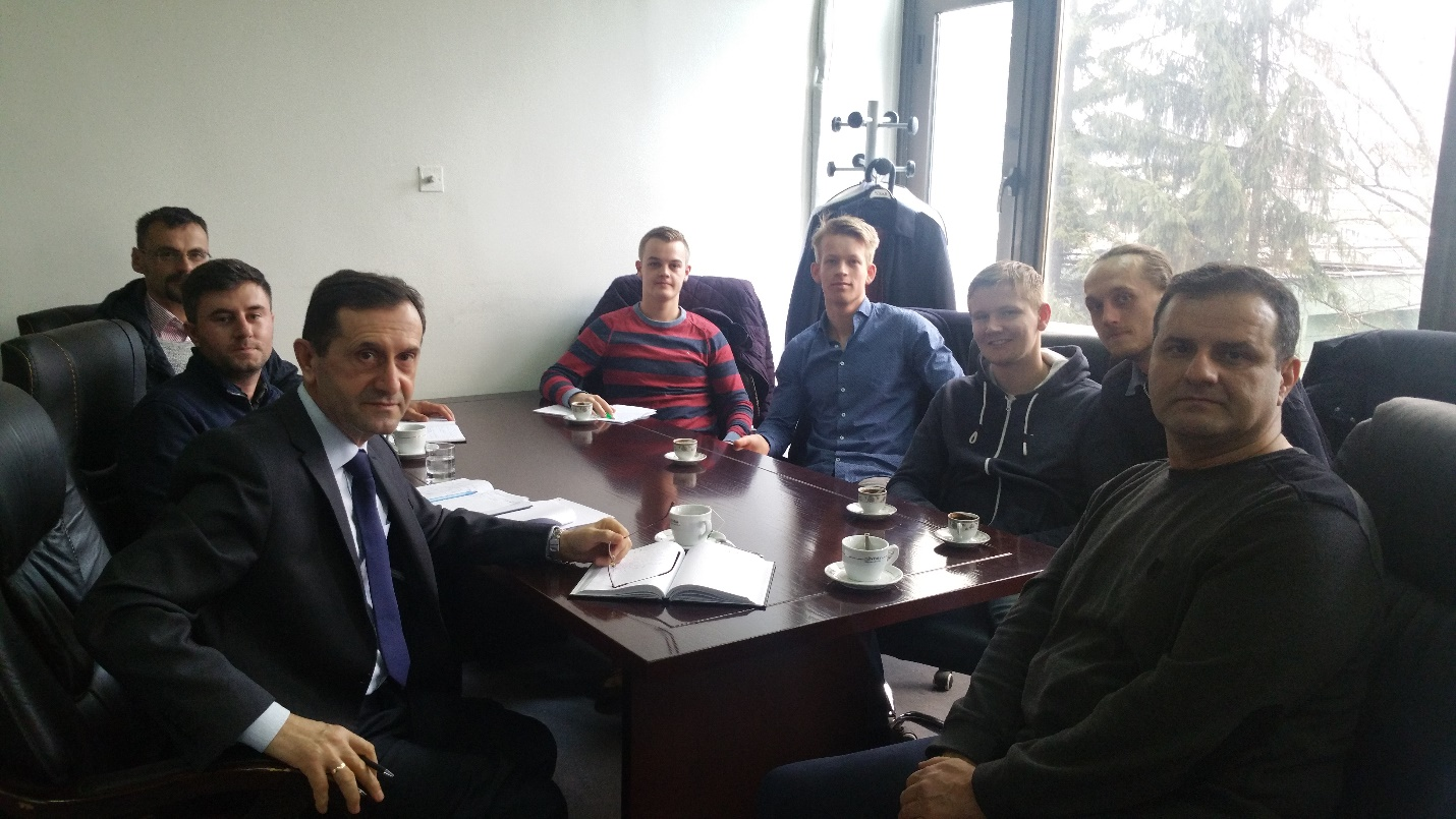 Studentë nga Holanda vizituan Fakultetin e Teknologjisë Ushqimore