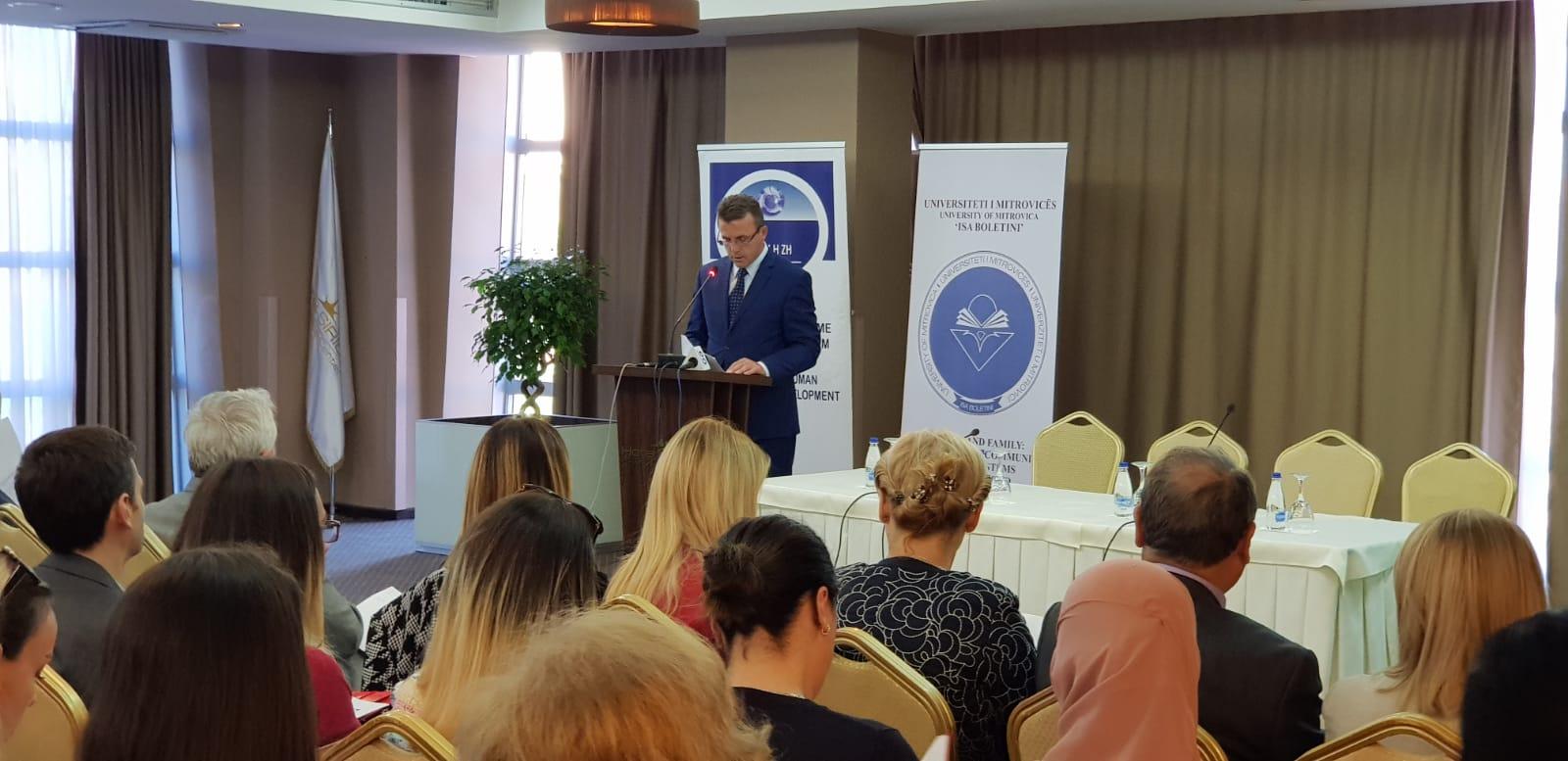 U mbajt konferenca ndërkombëtare: Trauma dhe familja - Forcimi i mbështetjes së sistemeve në Kosovë