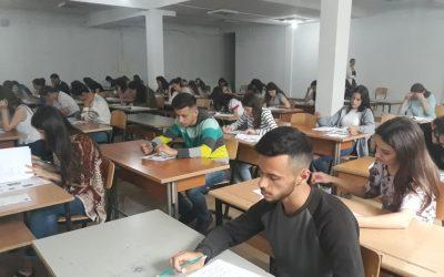 U Mbajtën Provimet Pranuese Për Studentë