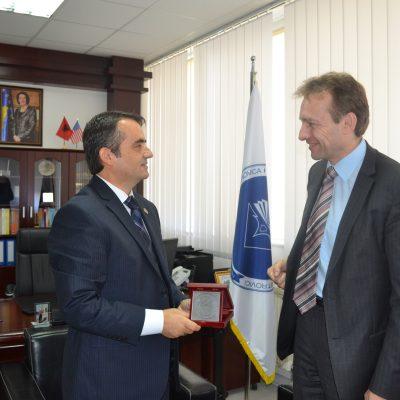 Me Rektorin E Universitetit Të Bohumit