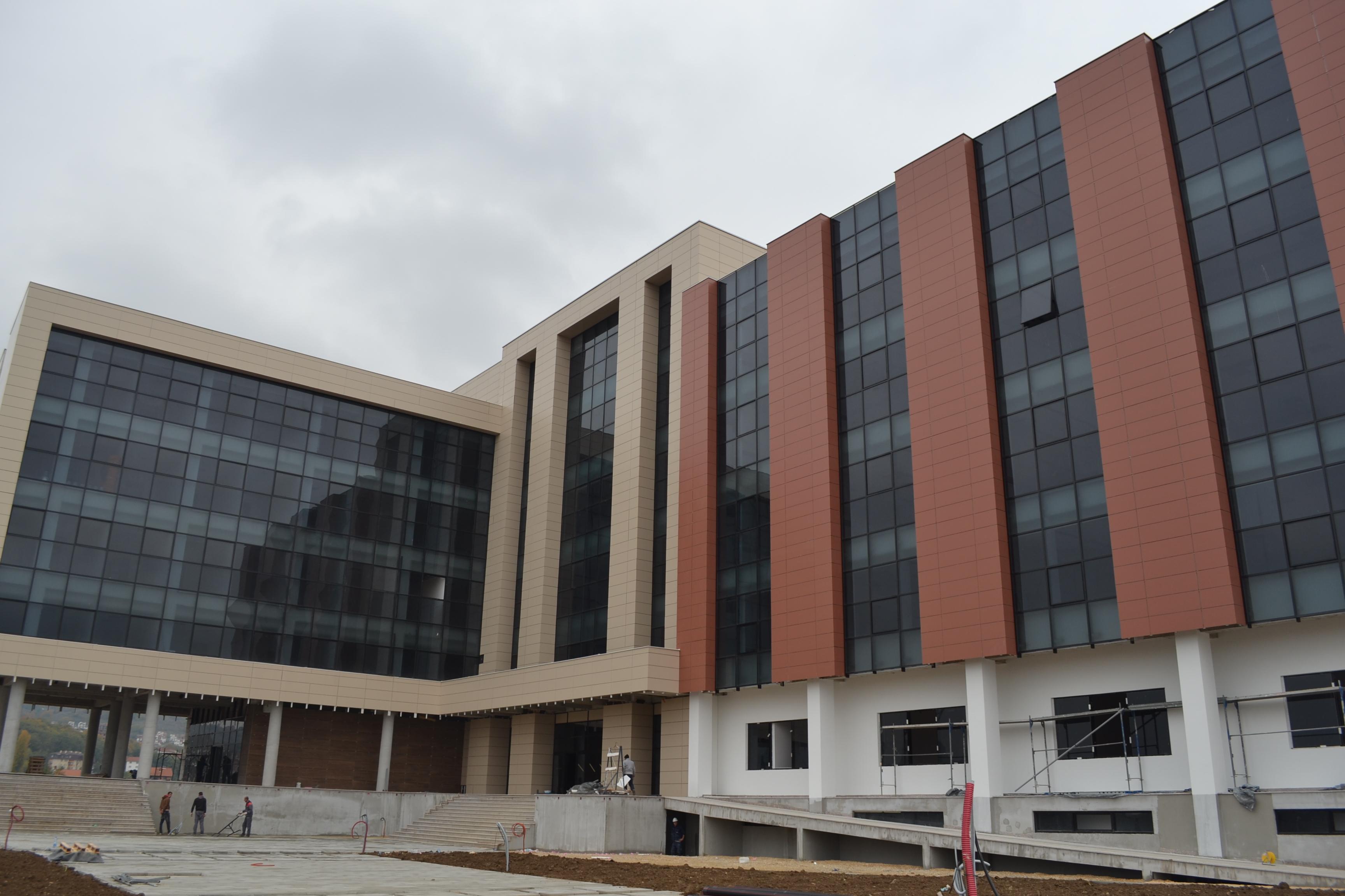 Objekti I Ri Universitar Në Përfundim E Sipër (tetor 2016)