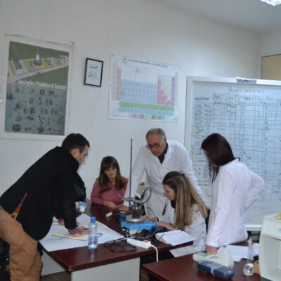 Punëtori Me Ekspertë Ndërkombëtarë Në Laboratoret E FTU-së (tetor 2016)