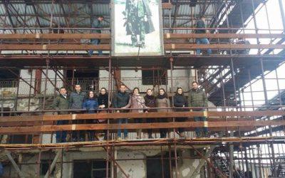 Studentët E UMIB-it Gjatë Vizitës Në Prekaz