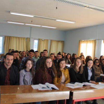 Studentët E UMIB-it Në Universitetin E Shkodrës