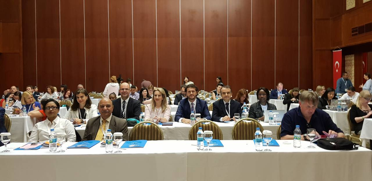 "The rector of UMIB, Alush Musaj, attends the conference ""Plagiarism in Europe and Beyond 2018"""