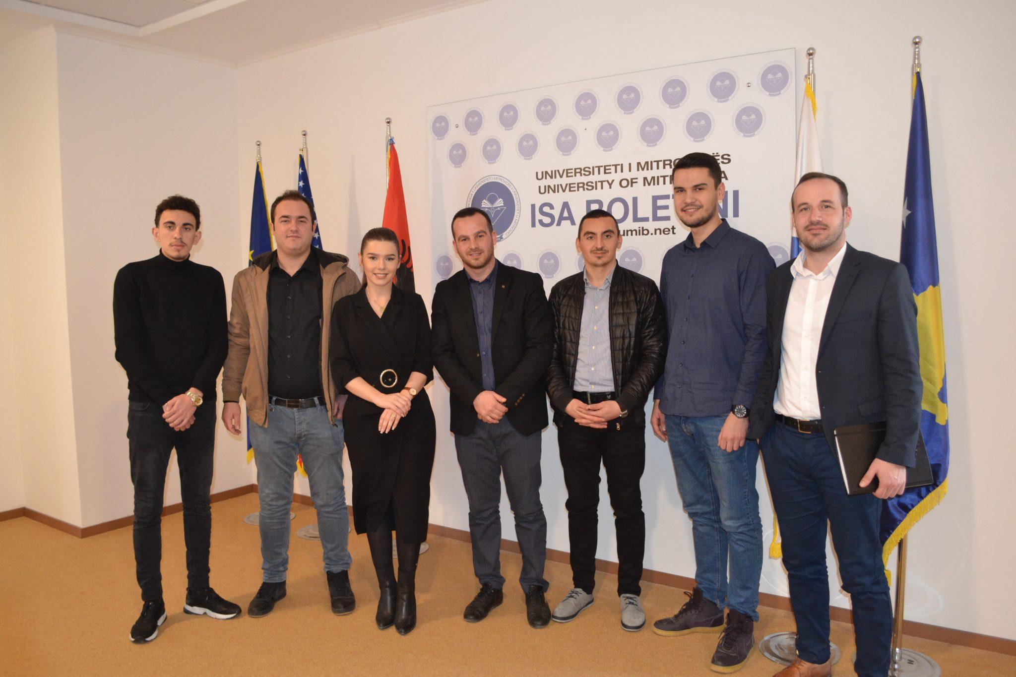 UMIB mbështet Unionin e Studentëve të Kosovës