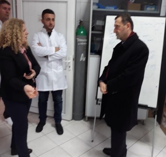 Vizitë Institutit Hidrometeorologjik të Kosovës