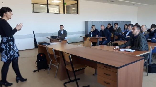 Trajnimi në Fakultetin Geoshkencave – Departamentin e Gjeologjisë