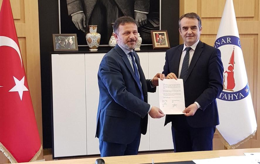 """Protokoll bashkëpunimi me universitetin """"Kutahja Dumlupınar"""" në Turqi"""