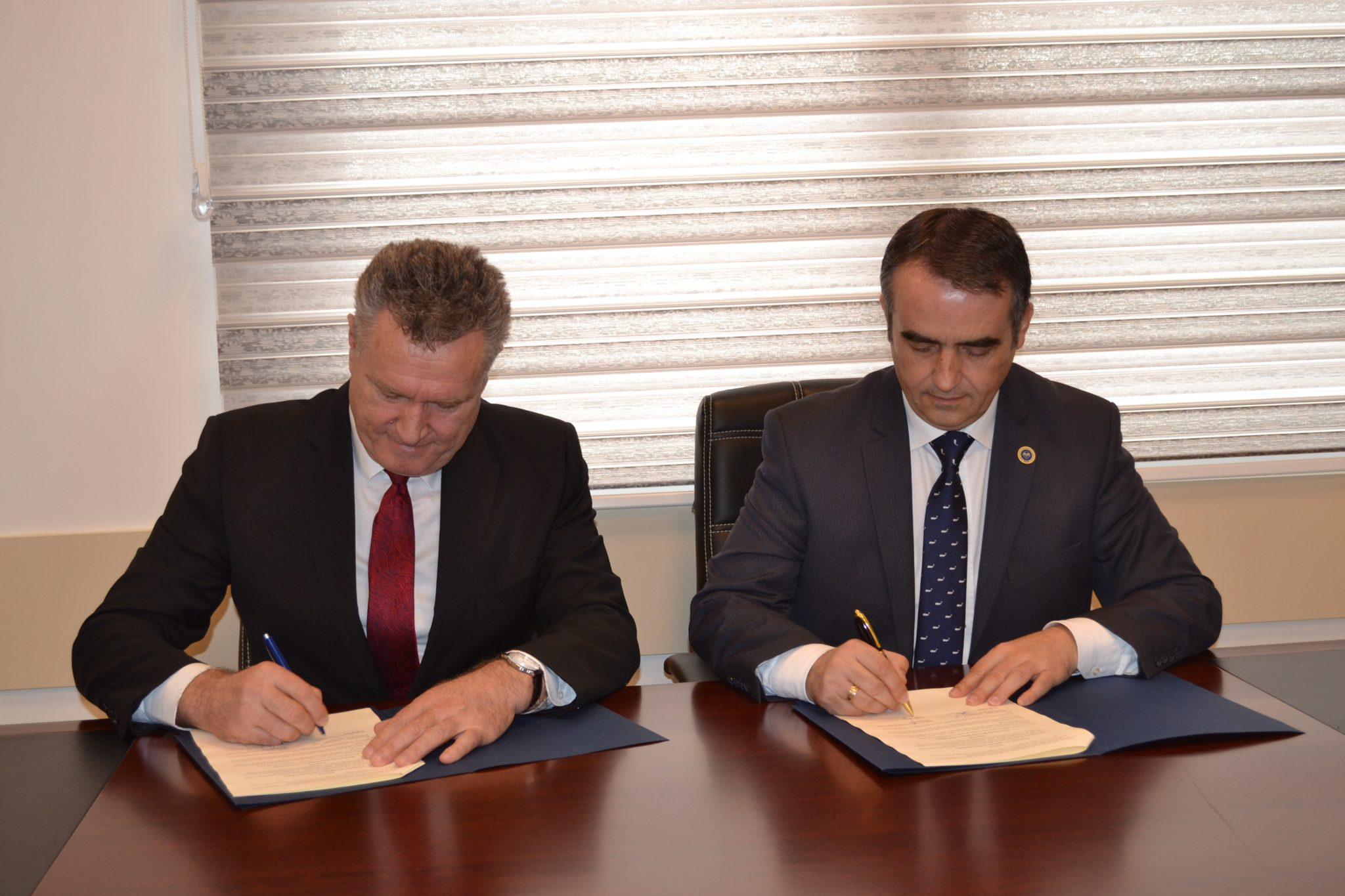 Cooperation Agreement was signed between Rector of UMIB and National Coordinator for Culture, Youth and Sports