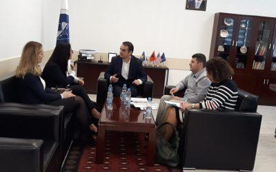 Erasmus+ Office Coordinator Visits UMIB