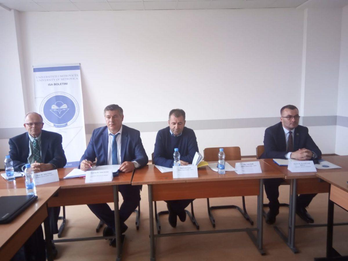 Ligjëratë lidhur me sistemin e burgjeve në Kosovë