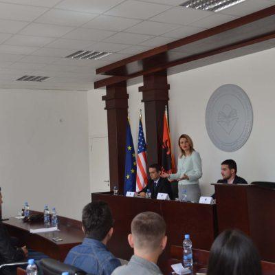 Ligjëratë E Ministres Së Drejtësisë, Dhurata Hoxha (prill 2017)