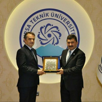 Rektori Musaj Dhe Homologu I Tij, Arif Karademir (shkurt 2017)