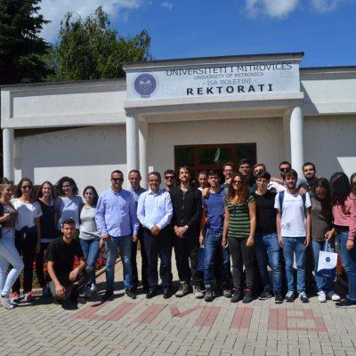 Vizitë E Studentëve Nga Roma (korrik 2017)