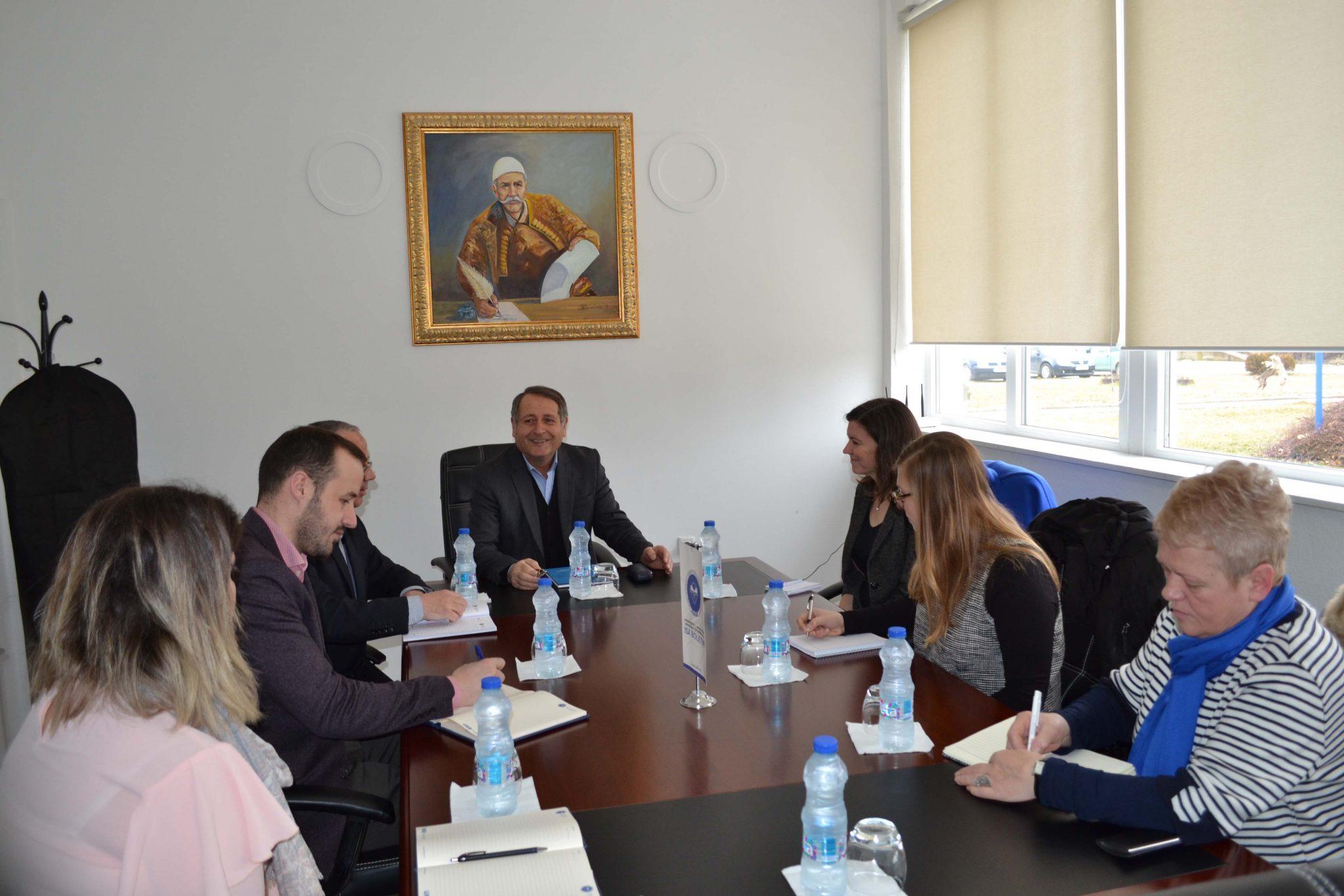 Vizitë Nga Një Delegacion I Ambasadës Amerikane (shkurt 2018)