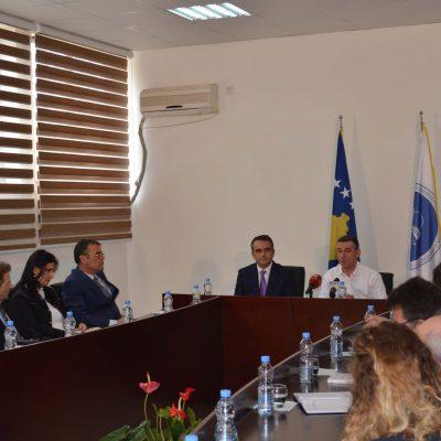 Vizita E Kryeparlamentarit, Kadri Veseli Në UMIB (prill 2017)