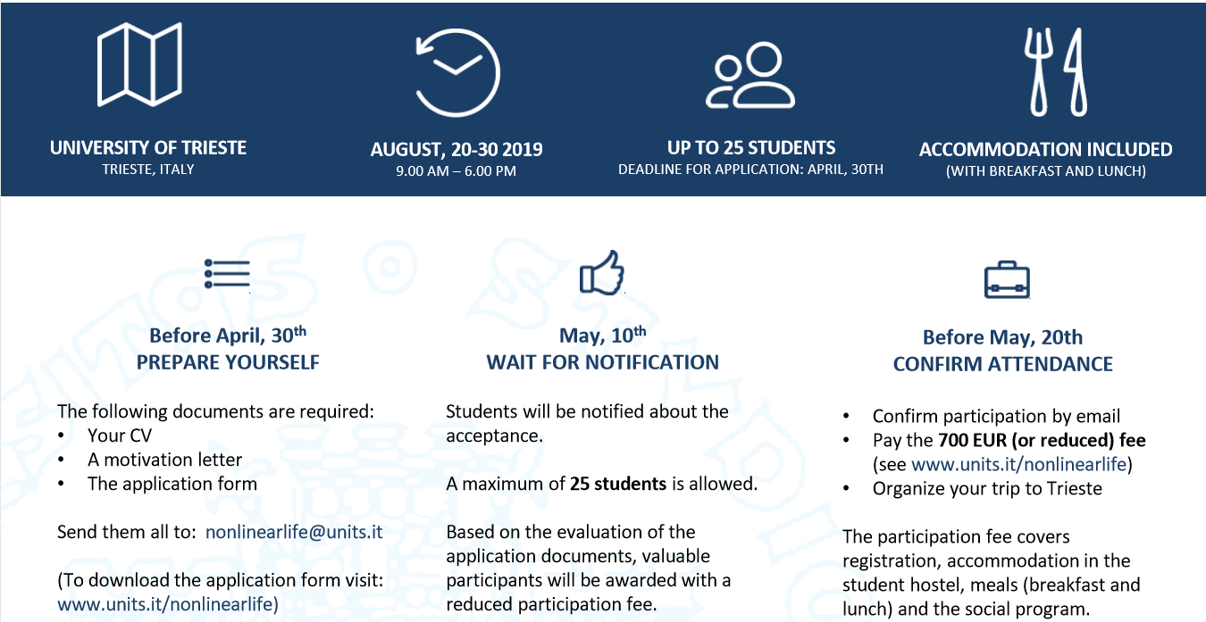 Riga Technical University and Trieste University open applications for a joint summer school