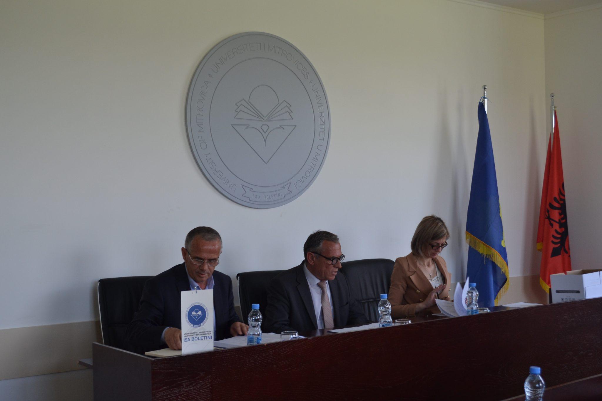 U mbajt mbledhja konstituive e Senatit të UMIB-it