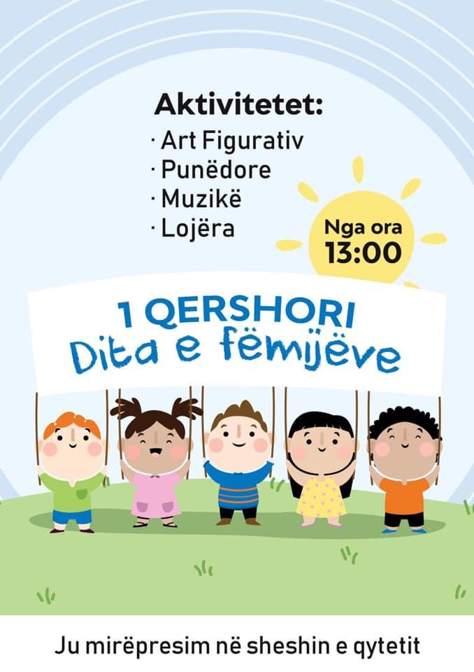 Aktivitet për nder të festës së fëmijëve nga Këshilli i studentëve të Fakultetit të Edukimit