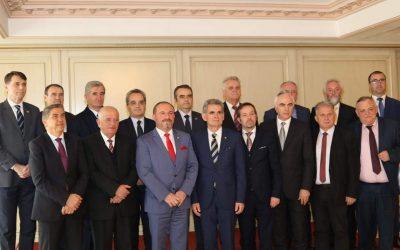 Takim I Rektorëve Të Universiteteve Shqiptare (shkurt 2019)