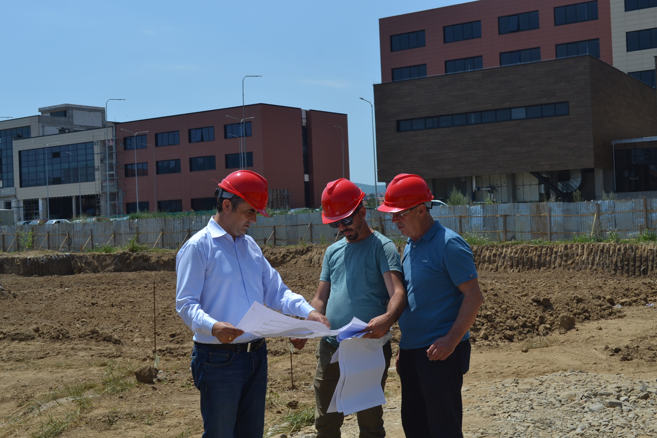 Dormitory And Canteen Construction Begins