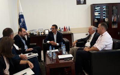 """Ministri Në Detyrë I Inovacionit Dhe Ndërmarrësisë Vizitoi Universitetin E Mitrovicës """"Isa Boletini"""""""