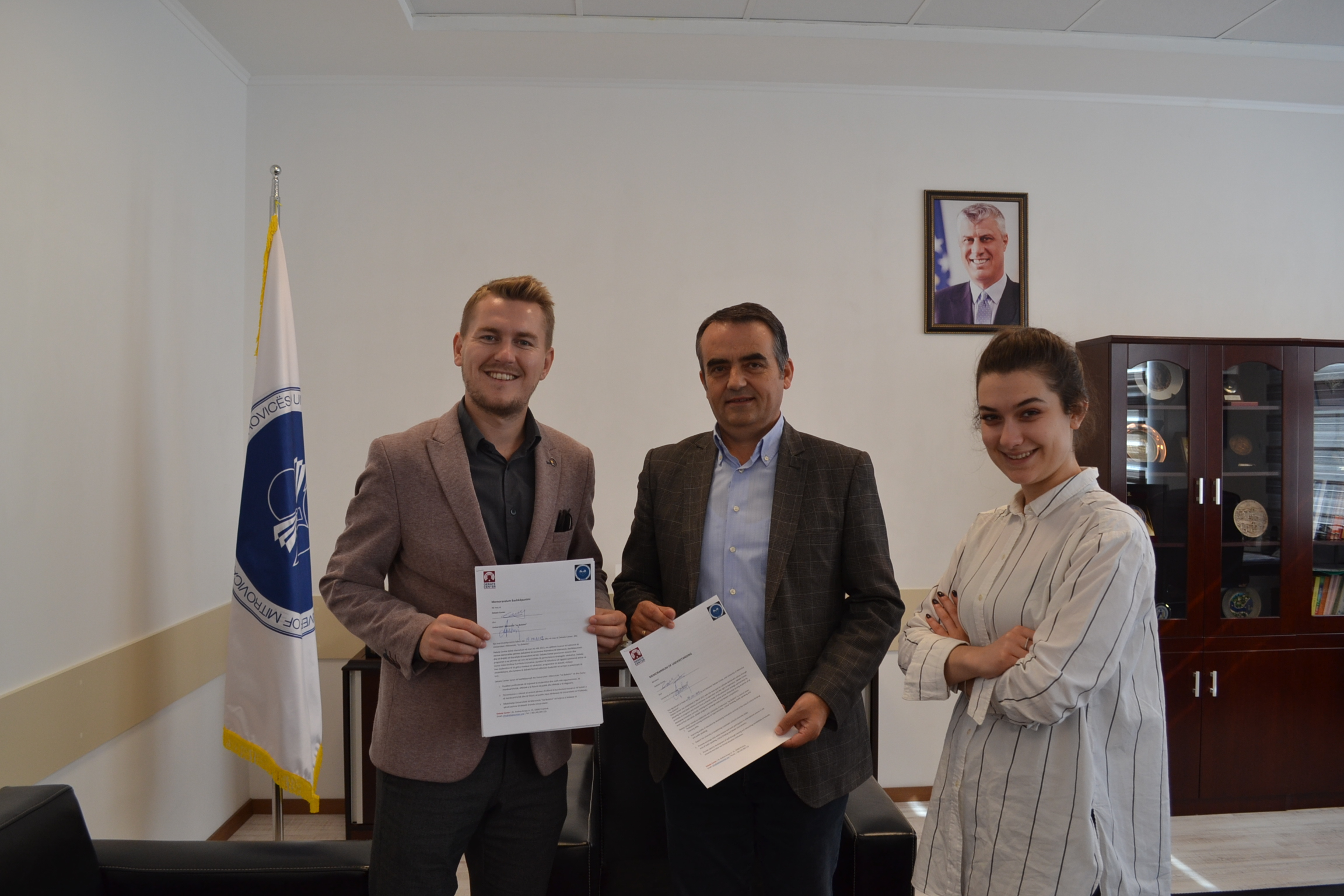 Collaboration With Debate Center To Develop Critical Thinking Within The University