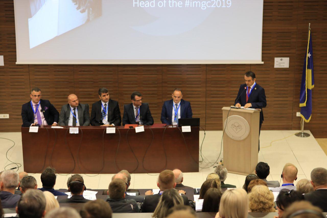 """Fjalimi i rektorit, Alush Musaj, në hapje të """"Konferencës Ndërkombëtare për Gjeoshkencë"""""""