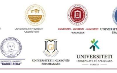 Komunikatë Nga Konferenca E Rektorëve