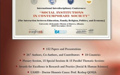 "On November 15th And 16th, Will Be Organized The Conference ""Social Institutions In Contemporary Society"""