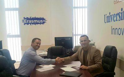 """Kontratë Me """"Caritas Kosova"""", Për Organizimin E Trajnimeve Rreth Menaxhimit Të Biznesit"""
