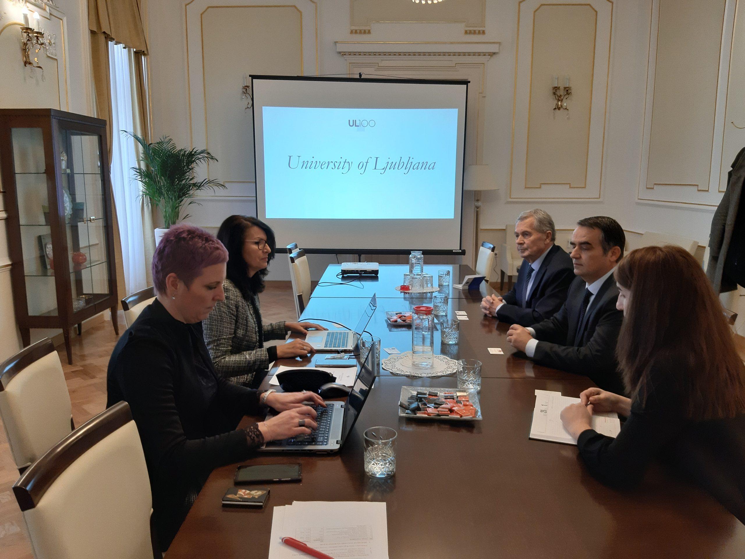 Thellohet Bashkëpunimi Me Universitetin E Lubjanës