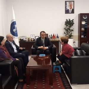 """The Rector Of The University Of Mitrovica """"Isa Boletini"""" Met With The Representative Of The NGO """"Little People Of Kosovo"""""""