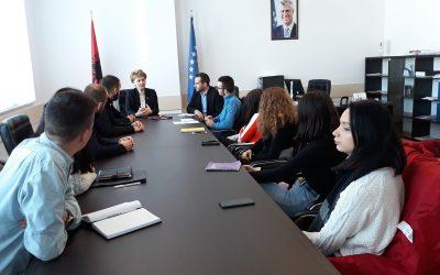 Prorektorja Shala Takoi Përfaqësuesit E Studentëve