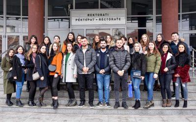 Studentët E UMIB-it Vizituan Universitetin E Tetovës