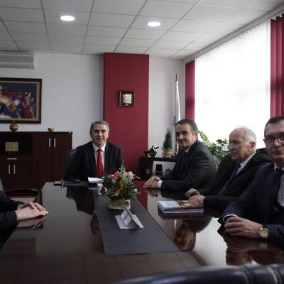 Rektori Musaj Viziton Universitetin E Evropes Juglindore