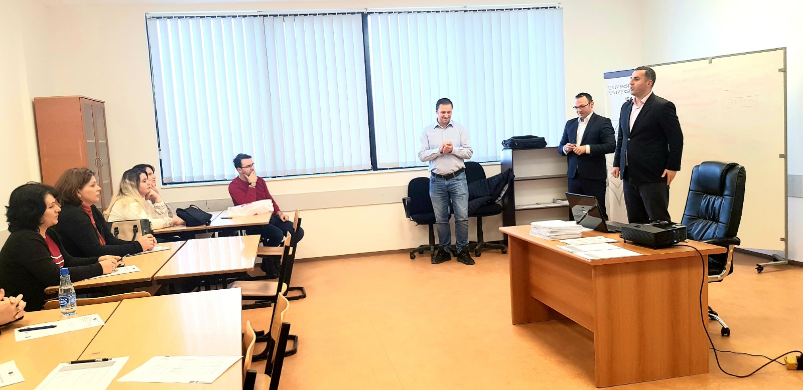 The second cycle of training from the Center for Innovation and Entrepreneurship has started