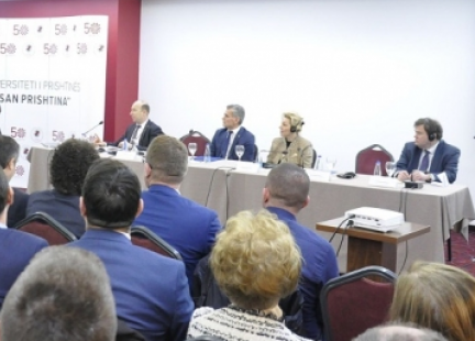 "The conference ""University, politics and fundamental values of higher education"" was held"