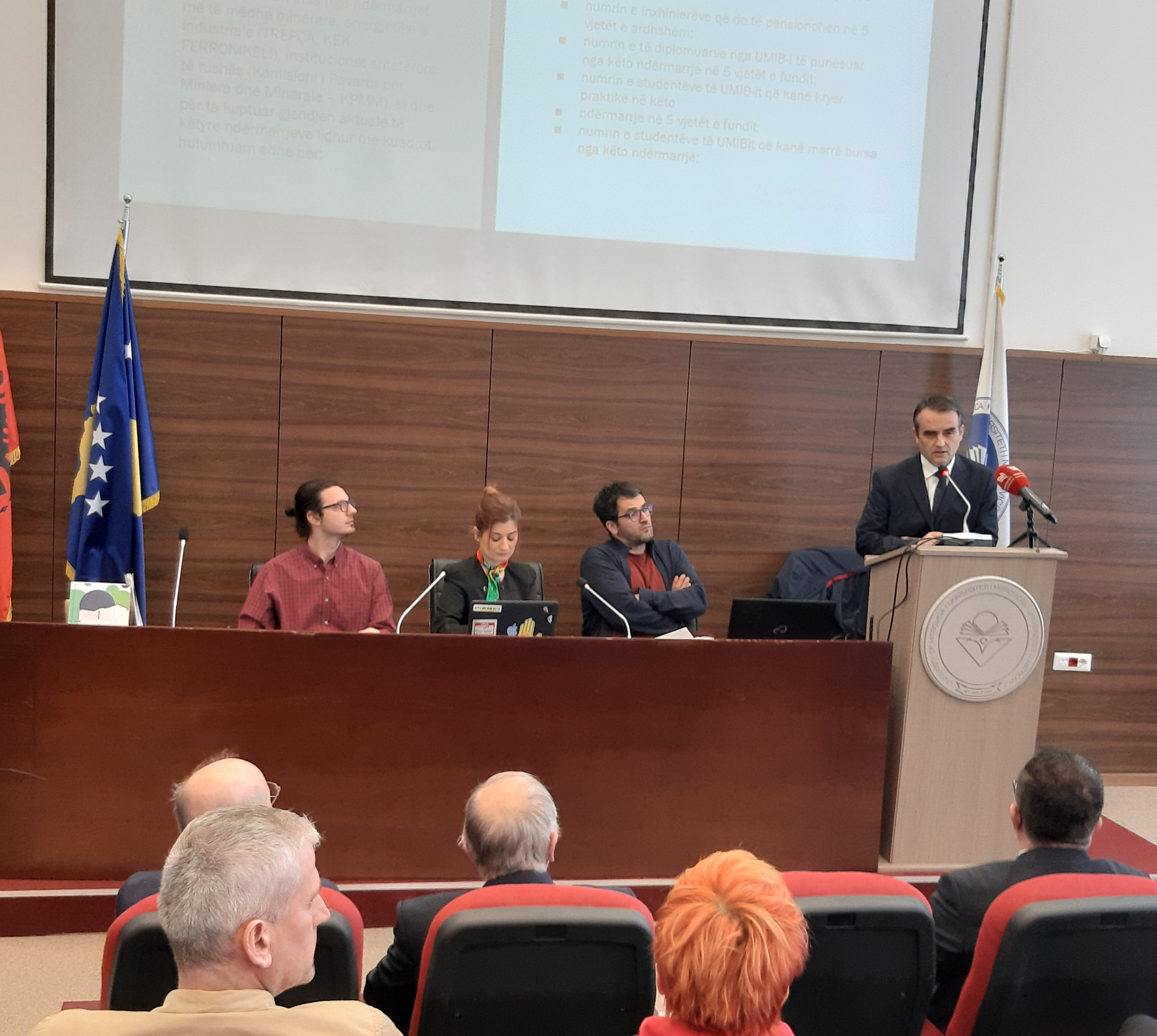 The research on the Faculty of Geosciences was presented