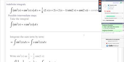 Trajnim Online Rreth Përdorimit Të Softuerit Mathematica
