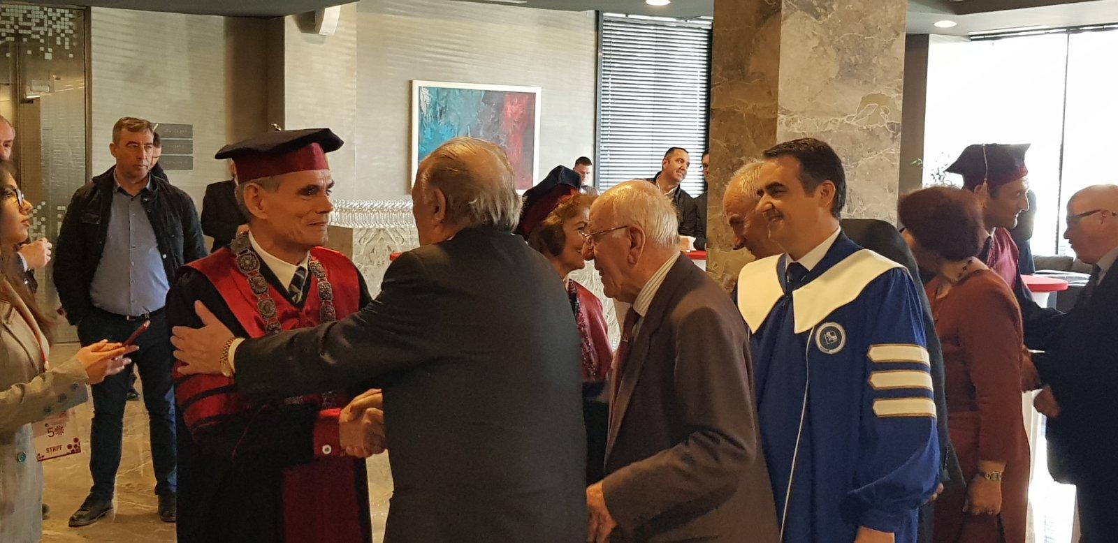 Rektori Musaj, mori pjesë në aktivitetet për shënimin e 50-vjetorit të UP-së