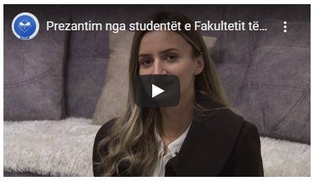 Studentët e Edukimit tregojnë shkathtësitë në fushën praktike