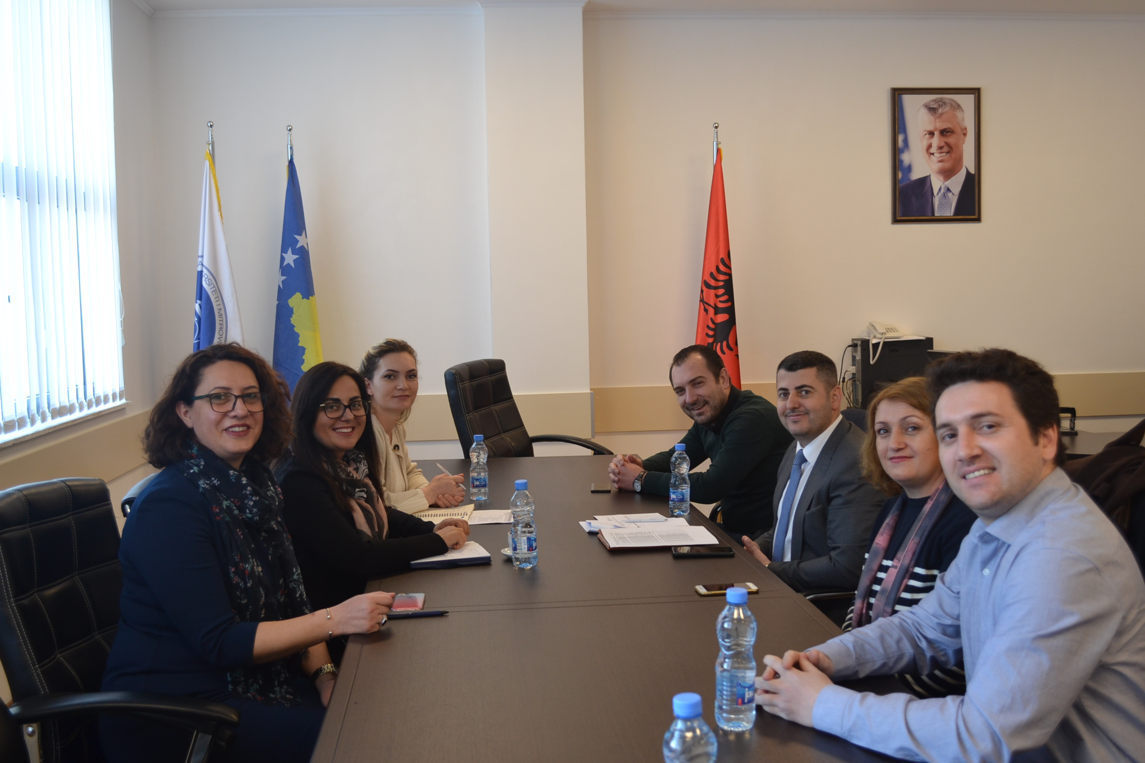 Një Ekip I Erasmus+ Realizoi Një Vizitë Monitoruese Në UMIB