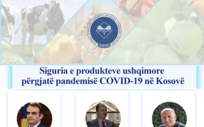 Konferencë Virtuale: Siguria E Produkteve Ushqimore Përgjatë Pandemisë COVID19